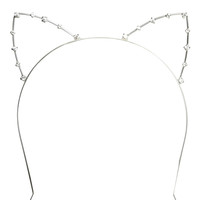 Cat Ears Rhinestone Headband | Shop Accessories at Wet Seal