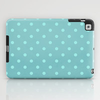 Polka Party Teal iPad Case by Shawn Terry King