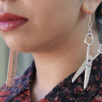 Stylist Earring by SanazKhosravi on Etsy