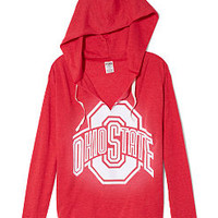 The Ohio State University Vintage Tunic Hoodie - PINK - Victoria's Secret