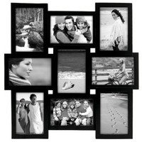 Malden Home Profiles Puzzle Collage Picture Frame