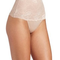 OnGossamer Women&#x27;s Boudoir Blooms Shapewear Thong