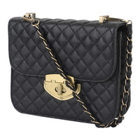 Quilted Chain Strap Crossbody | FOREVER21 - 1000039144