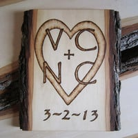 Custom wedding sign  Country wedding gift  hand by Vic at SepiaTree