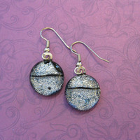 Silver Earings, Dangle Earrings, Hypoallergenic Jewelry - Midnight Madness -  -2