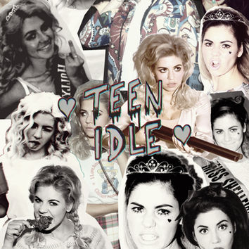 Marina and the Diamonds: The archetypes -> Teen Idle Art Print by More