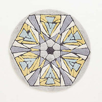Anthropologie - Tufted Kaleidoscope Bathmat