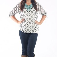 Diamond Girl Blouse