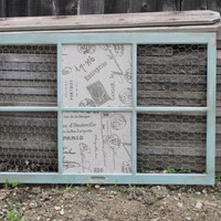 Old Wooden Window Farmstyle Frame with by winecountrymamaamy
