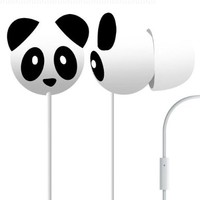 Pineapple Panda Mega Bass Earphones:Amazon:Electronics