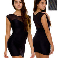 Sweetheart Two-Toned Mini Dress | Dresses | Shop American Apparel
