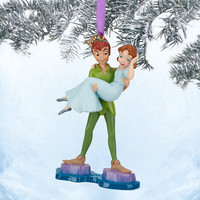 Disney Peter Pan and Wendy Sketchbook Ornament | Disney Store
