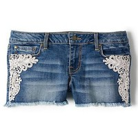 Amazon.com: Jessica Simpson Forever Lace Shorts: Clothing