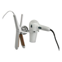 Amazon.com: FLAT iron and HAIR dryer HOLDER in POLISHED chrome: Beauty