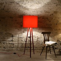 Luca Standing Lamp - Red -16%