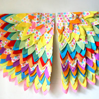 Whimsical Childrens Make Believe Wings Cape