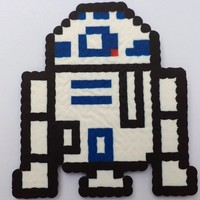 R2D2 Perler (Star Wars) from Little House of Crafting