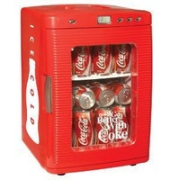 Amazon.com: Koolatron KWC-25 Coca-Cola 28-Can-Capacity Portable Fridge with LED Display: Appliances