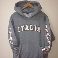 Italia Hooded Sweatshirt