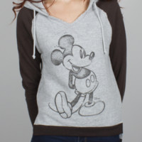 Mickey Mouse Color-Block Hoodie -  - Junk Food Clothing