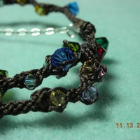 Swarovski Crystal wrapping bracelet