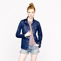The downtown field jacket - cotton & denim jackets - Women's outerwear - J.Crew