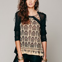 Free People FP New Romantics Bird In Hand Tunic