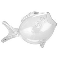 Pier 1 Imports - Decorative Glass Fish Bowl