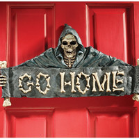 Go Home Wall Sculpture - CL5497                       - Design Toscano