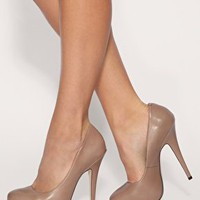 ASOS | ASOS POLLY Leather Court Shoes at ASOS