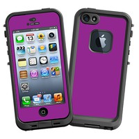 Purple Skin  for the iPhone 5 Lifeproof Case by skinzy.com