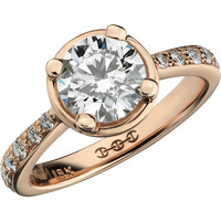 HOORSENBUHS for Forevermark Diamond & Yellow Gold Regis Ring at Barneys.com