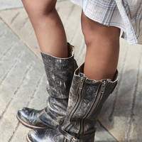 Free People Davi Distress Tall Boot