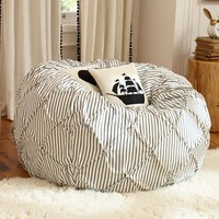 The Emily + Meritt Pintuck Beanbag