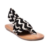 Womens Dirty Laundry Beka 2 Sandal, Black White | Journeys Shoes