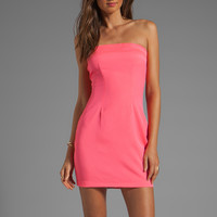 Naven Neon Collection Tube Dress in Pink