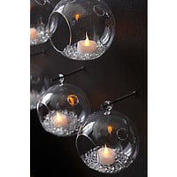 Set Of 6 Tealight Smart Candles