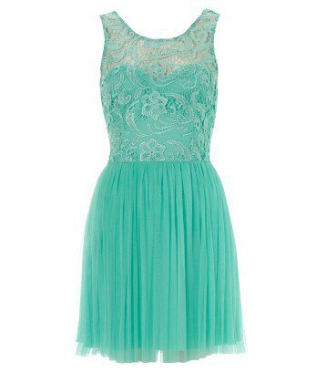 Lipsy Sleeveless Low Back Lace Dress - Lipsy