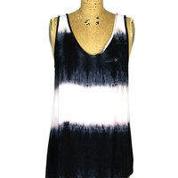Music Festival Tank: Dip Dye [F082005] - $32.99 : Spotted Moth, Chic and sweet clothing and accessories for women