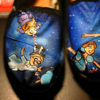DISNEY TOMS Peter Pan by creativitynthemaking on Etsy