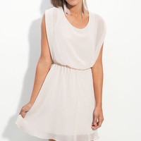 Lush 'Harper' Chiffon Dress (Juniors) | Nordstrom