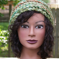 Adult hat with an architectural feel by staceyLynnCreates on Etsy