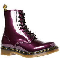 Dr Martens Boot Pascal in Purple Spectra Patent