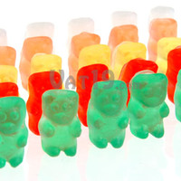 Mini Gummy Bear Soap: Colorful, realistic-looking gummy bear soaps