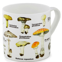 ModCloth Mushrooms, Scholastic Toadstool for School Mug