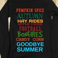 Supermarket: Goodbye Summer Long Sleeve Shirt from Glamfoxx Shirts