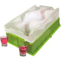 Amazon.com: Lush Life Party Ice Luge: Kitchen & Dining