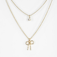 Urban Outfitters - Pretty Little Double-Layer Necklace