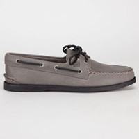 Sperry Top-Sider Authentic Original Mens Boat Shoes Ash Grey  In Sizes
