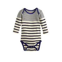 crewcuts Baby Long-Sleeve One-Piece In Multistripe